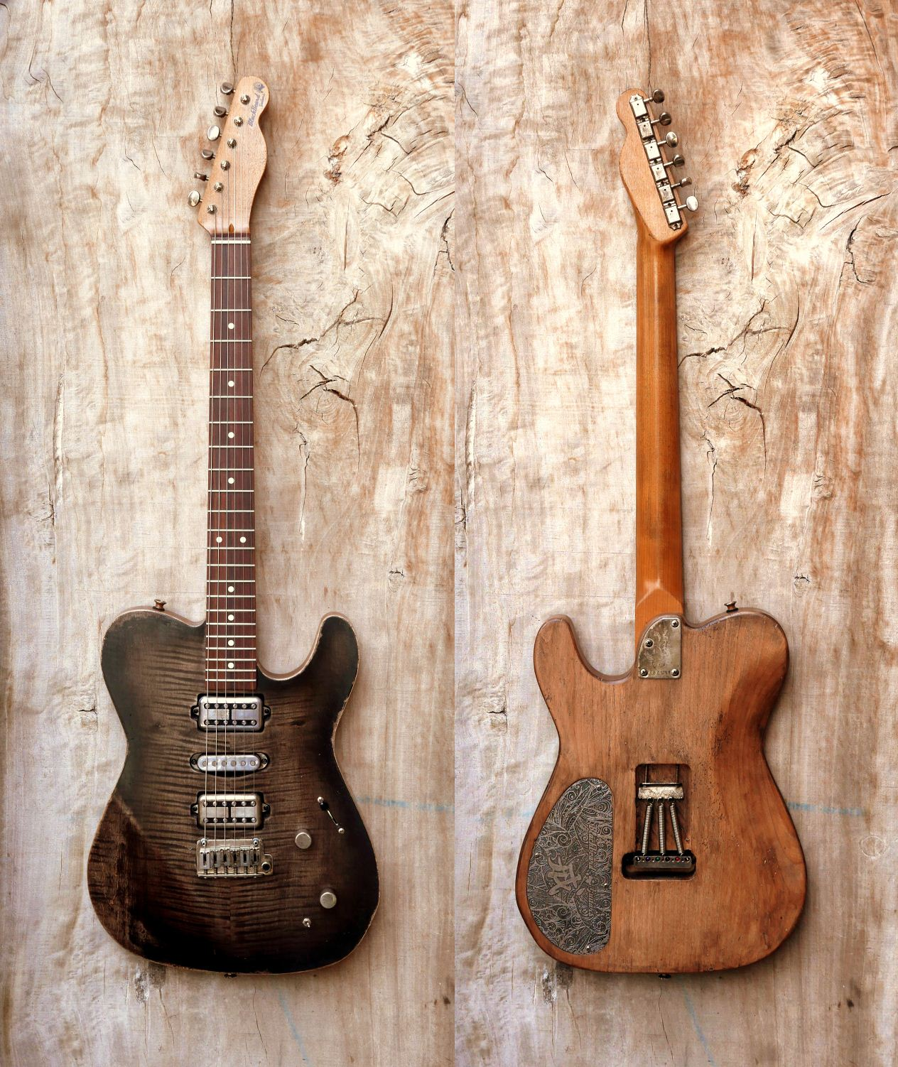 telecaster HSH front rear