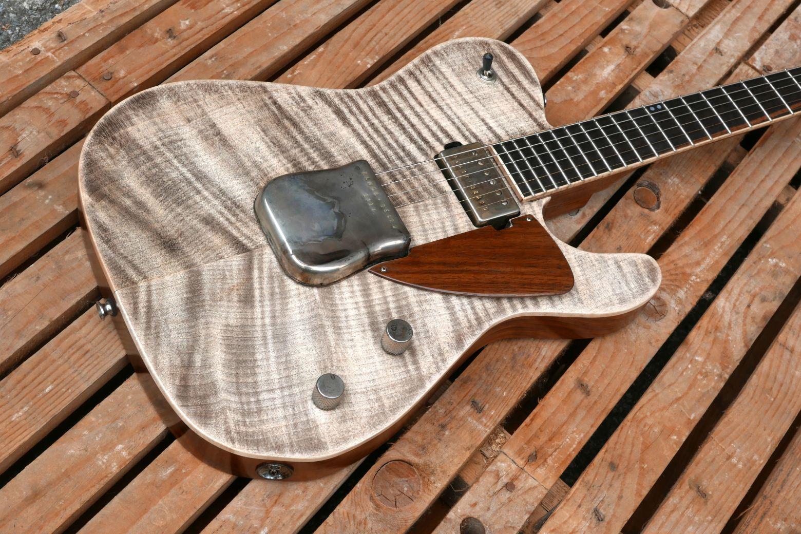 chitarra telecaster corpo