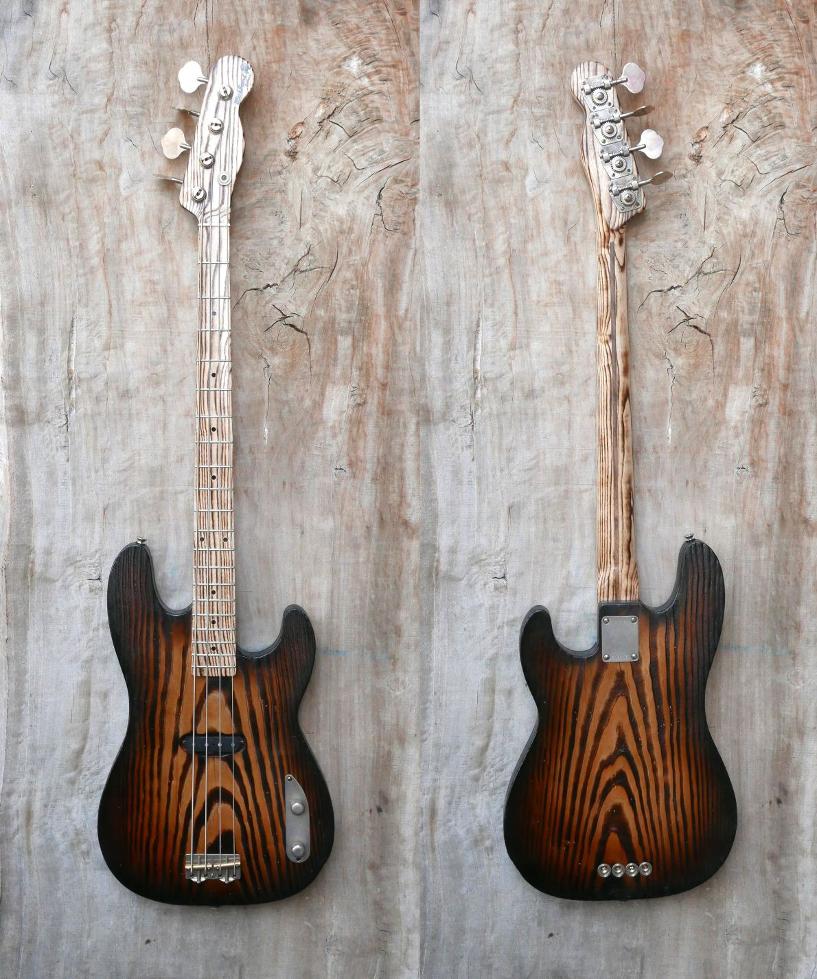 precision bass front rear