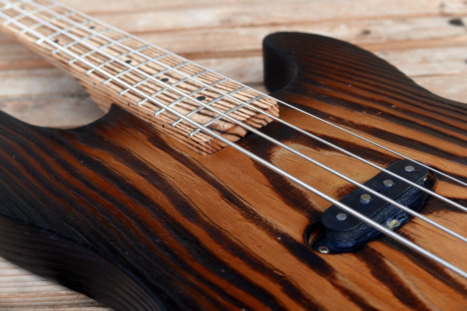 precision bass wood grain
