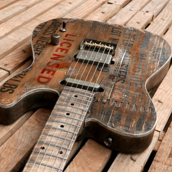old crate top telecaster body