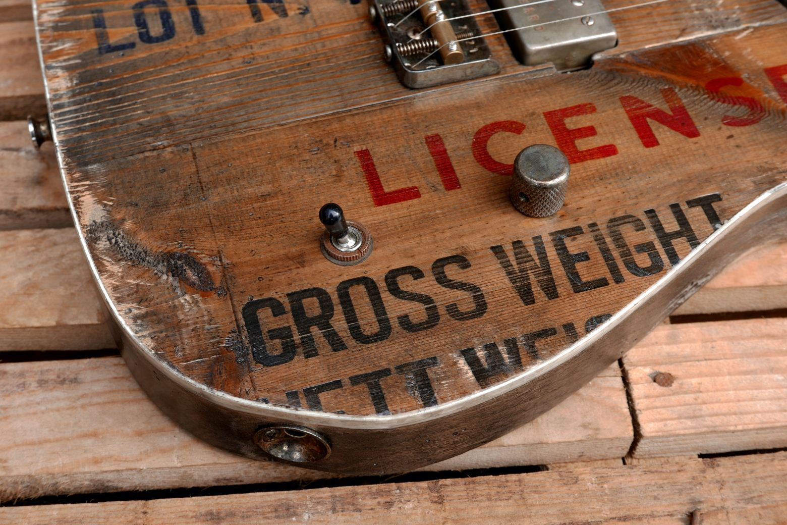 old crate top telecaster detail