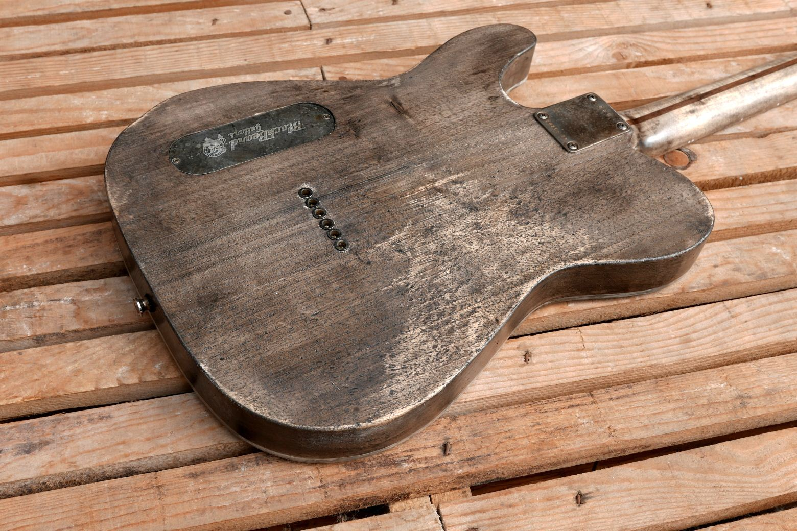 old crate top telecaster body back